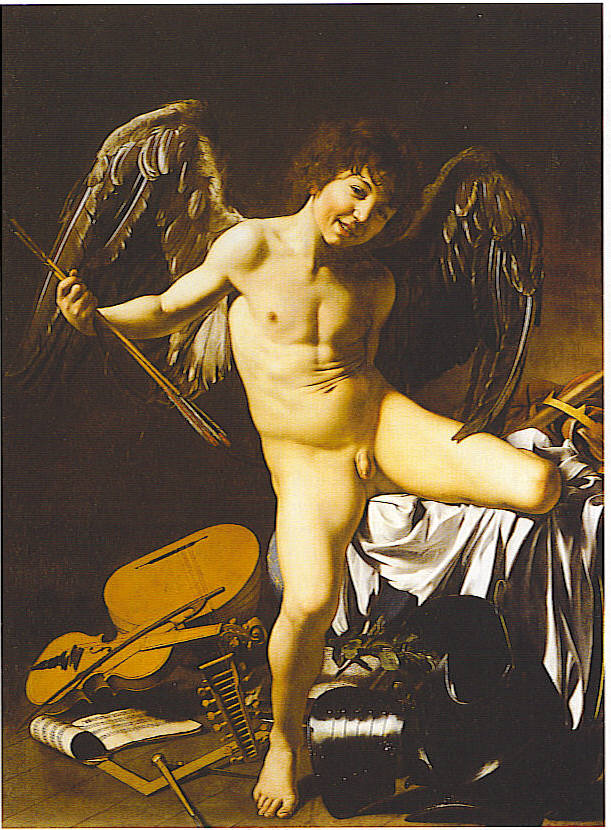 Love Conquers All By Caravaggio
