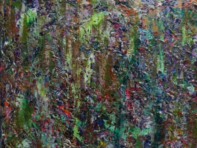 """Happily ever after"" 36x24 inches Acrylic on Canvas 2012"