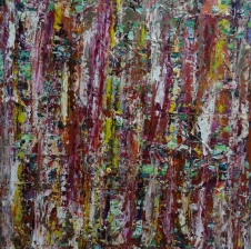 """Three wishes"" 24x24 inches Acrylic on Canvas 2012"