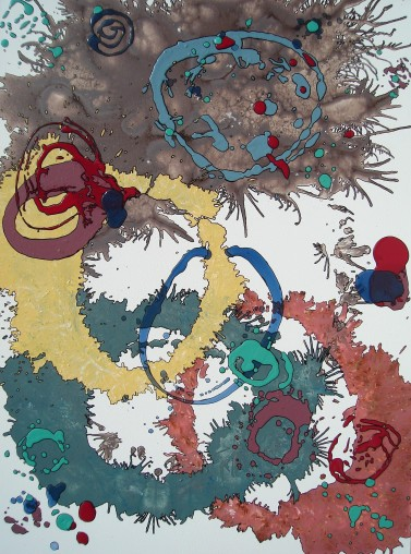 Sylvan 36x48 inches Acrylic on Canvas $1100