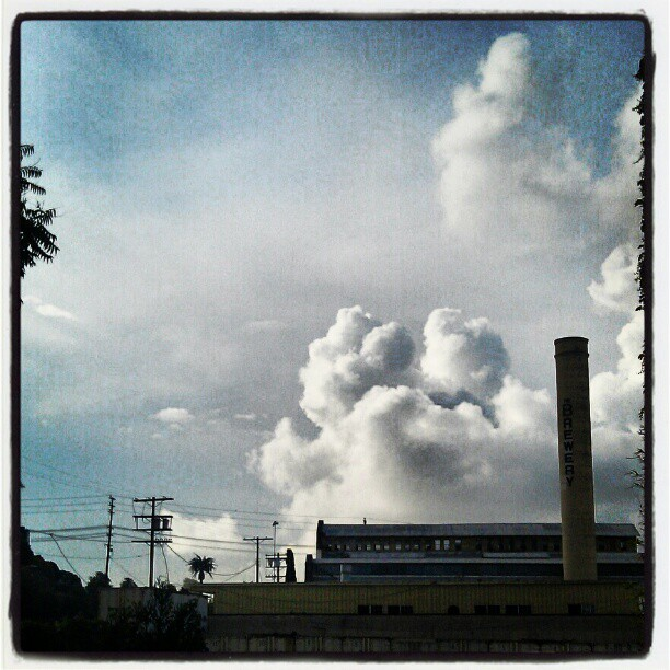 Brewery clouds
