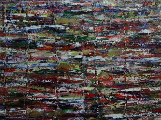 A long, long time ago 48x36 inches Acrylic on Canvas $1300